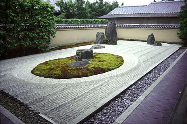 Il giardino giapponese for Pietre per giardino zen